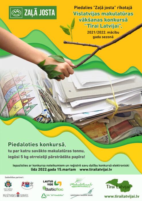Zalajosta Plakats Makulatura 2021 2022